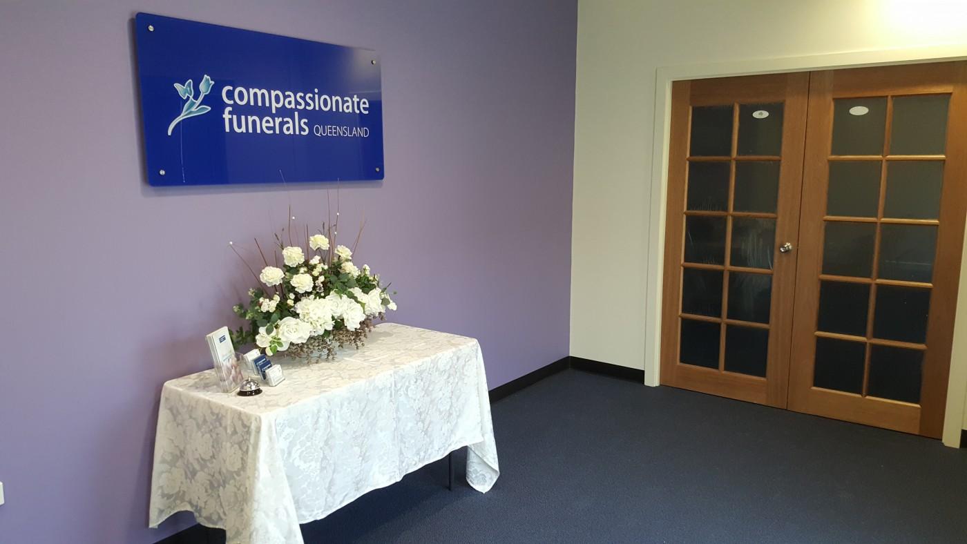 Compassionate Funerals Foyer