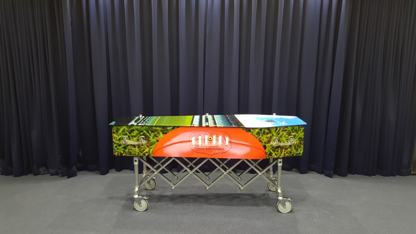 Expression Coffin - Aussie Rules