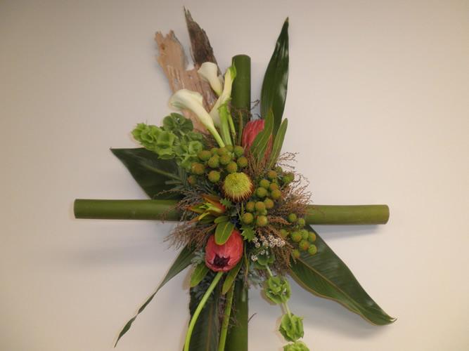 Bamboo Cross