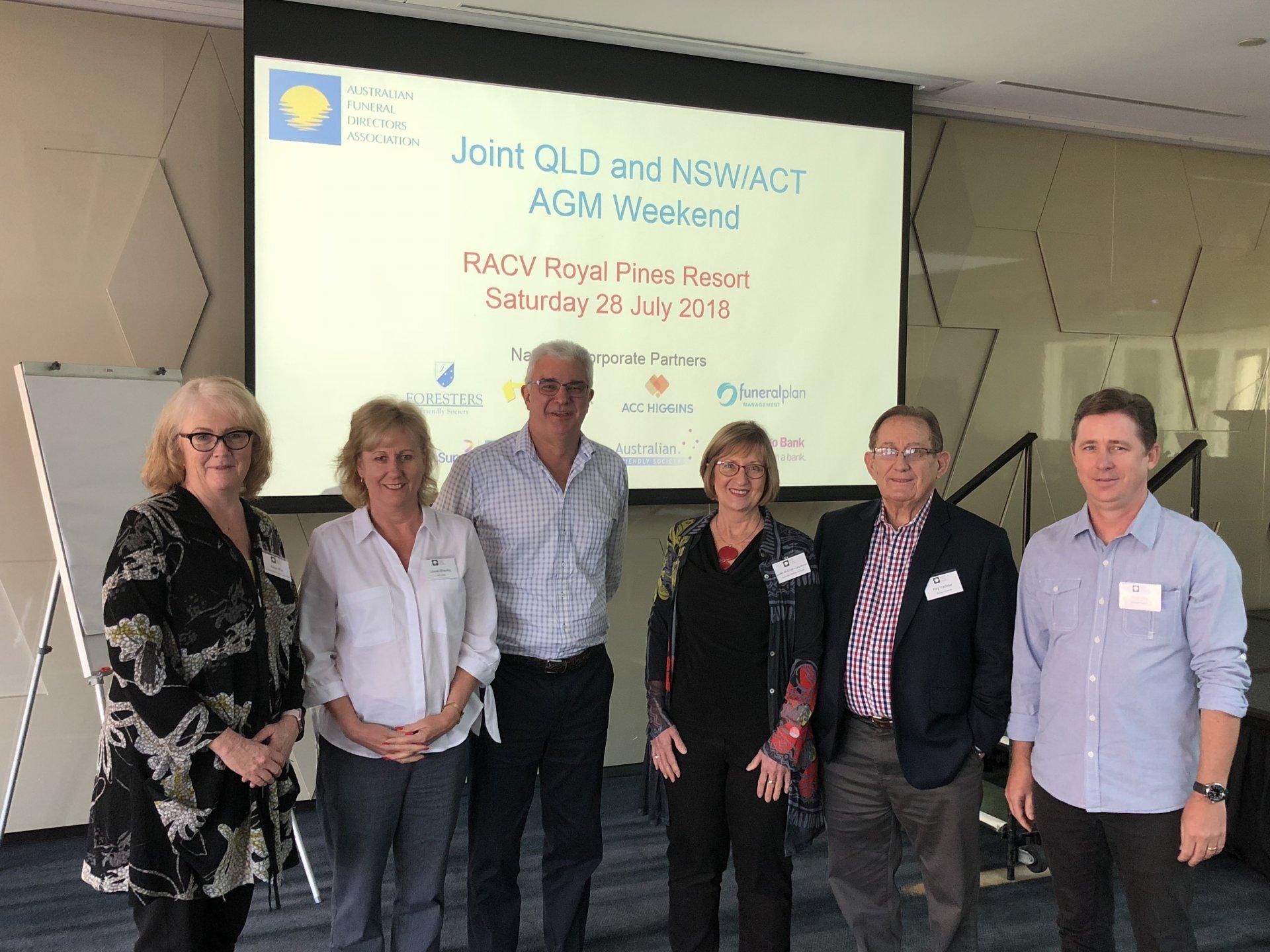 AFDA Queensland AGM Weekend 2018